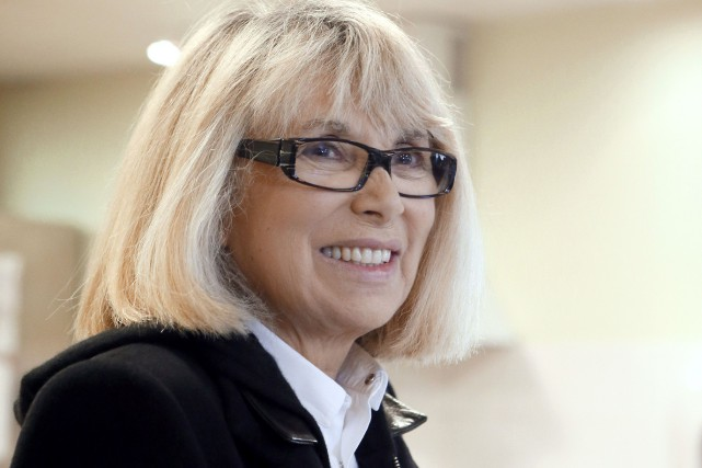 Mireille Darc en 2012.... (Photo Patrick Kovarik, archives Agence France-Press)