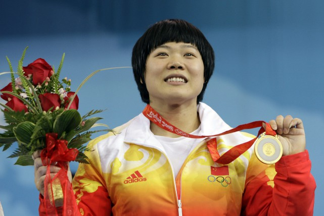 L'haltérophile chinoise Chunhong Liu... (Photo Andres Leighton, archives AP)