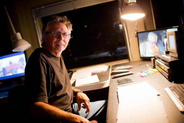 Projectionniste depuis 45ans, André Bergeron travaille à l'Impérial... (Photo Sarah Mongeau-Birkett, La Presse)