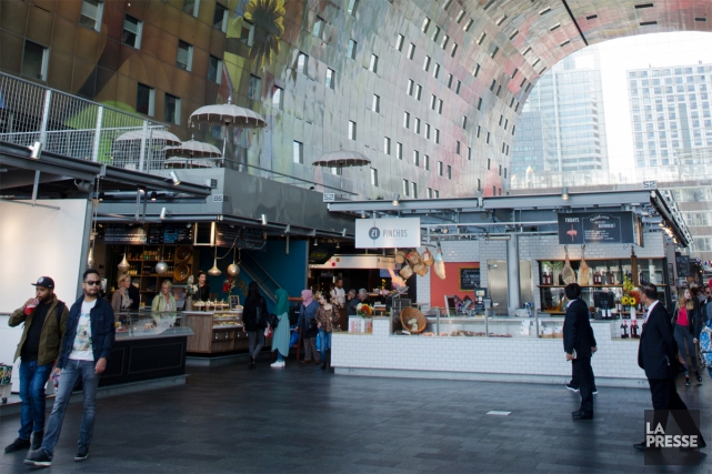 Audacieux, imposant et ouvert, le Markthal est un... (Photo Verónica Pérez Tejeda, La Presse)