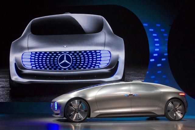 Les voitures futuriste et totalement autonomes sont, justement,... (Photo : REUTERS)