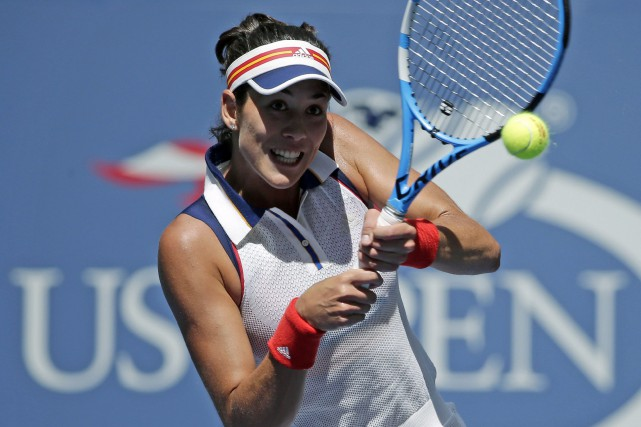 Garbine Muguruza... (Photo Seth Wenig, AP)