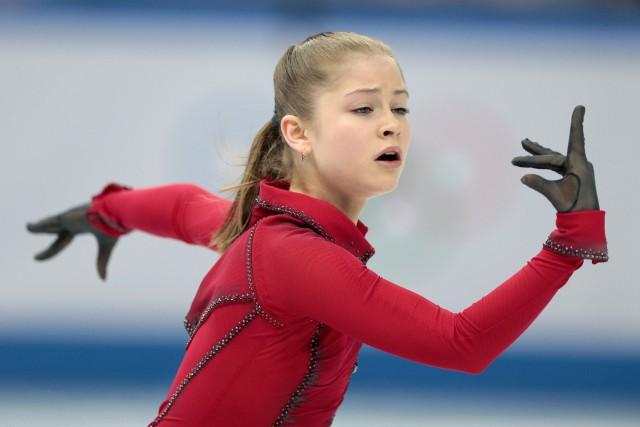Yulia Lipnitskaya... (Photo Ivan Sekretarev, archives AP)