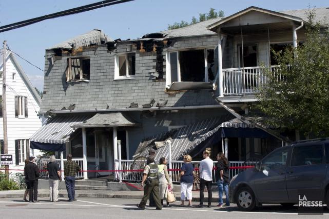 Au lendemain de l'incendie, il ne restait que... (Sylvain Mayer)