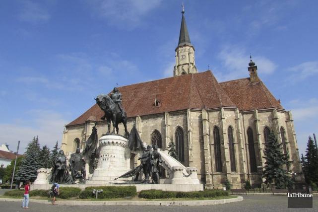 C'est à Cluj-Napoca, où se trouve l'église Saint-Michel,... (La Tribune, Jonathan Custeau)