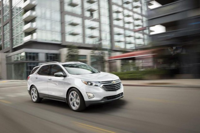 Le Chevrolet Equinox Diesel 2018... (PHOTO : CHEVROLET)