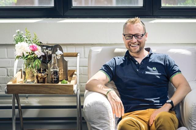 Bastien Poulain, 34 ans - Propriétaire et fondateur...