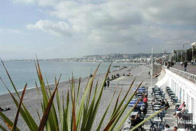La Côte d'Azur... (Photo archives La Presse)