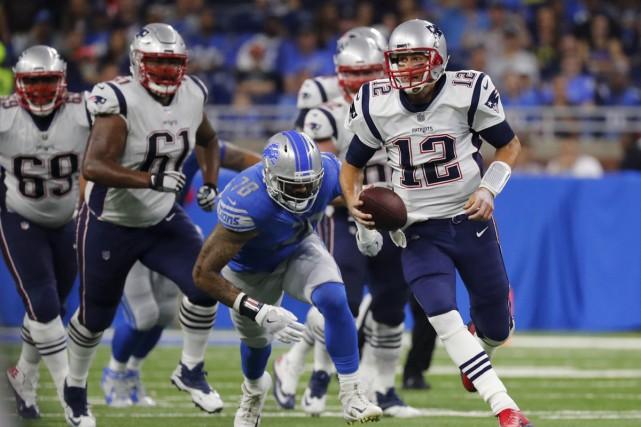 Tom Brady et les Patriots sont encore les... (Associated Press)