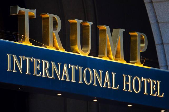 LeWashington Posta rapporté l'existence du projet de Trump... (PHOTO AFP)