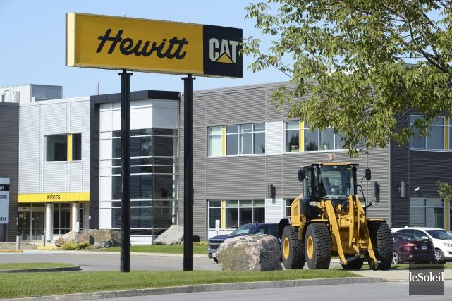 Fondée en 1952, Hewitt compte 45 succursales à... (Le Soleil, Jean-Marie Villeneuve)