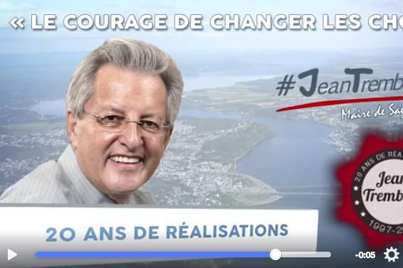 Le maire Jean Tremblay proposera une retrospective de... (Photo tirée de Facebook)