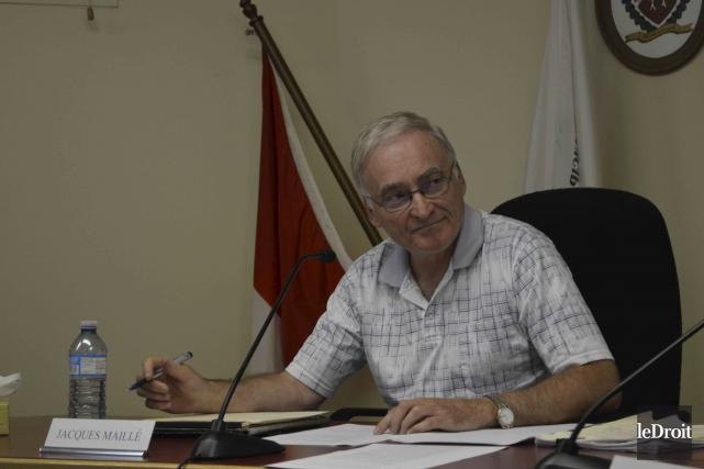 Le maire de Lac-Simon, Jacques Maille... (Benoit Sabourin, Le Droit)