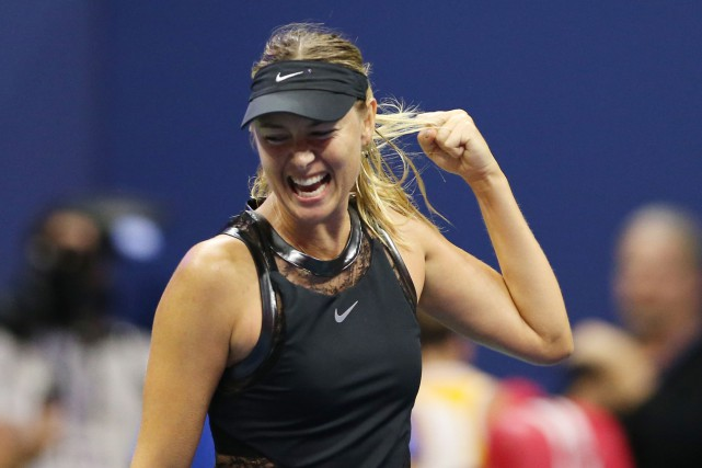 Maria Sharapova n'était plus apparue dans un tournoi du... (PHOTO REUTERS)