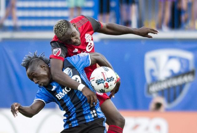 Chris Mavinga et leToronto FC ont eu le... (La Presse canadienne, Graham Hughes)