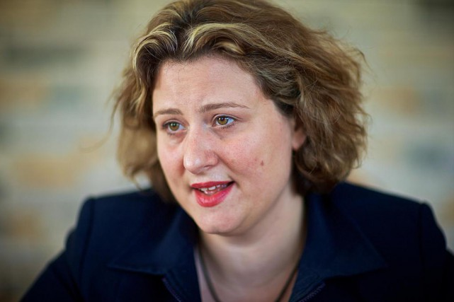 Catherine Harel Bourdon, présidente de la CSDM... (Photo André Pichette, Archives La Presse)
