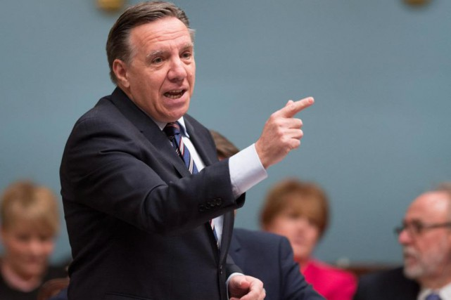François Legault... (Photo Jacques Boissinot, Archives La Presse Canadienne)