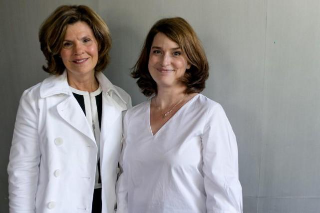 LizaFrulla, présidente de CultureMontréal, et Valérie Beaulieu, directrice... (Photo David Boily, La Presse)