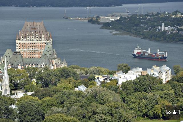 La région métropolitaine de Québec est devenu le... (Photothèque Le Soleil, Pascal Ratthé)