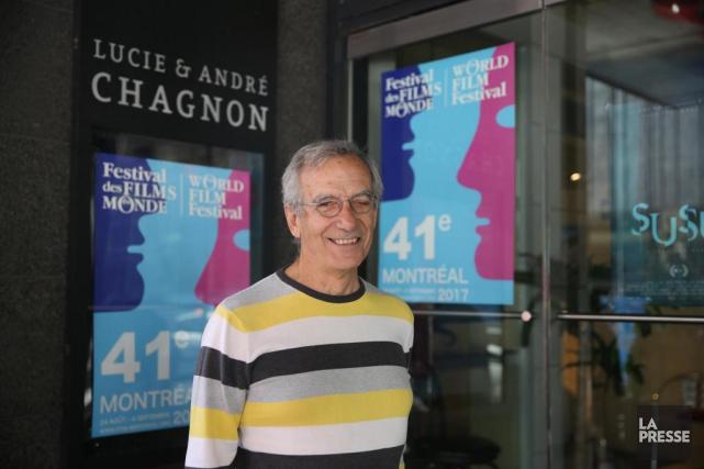 Robert Fortier, cinéphile qui fréquente le FFM.... (Photo Martin Chamberland, La Presse)