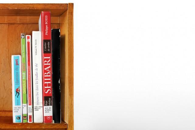 En fouillant parmi les deux millions de livres que renferme la Grande... (Photo Marco Campanozzi, photomontage La Presse)