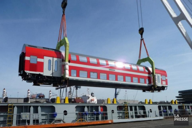 Le patron de la division ferroviaire de Bombardier affirme que son entreprise... (photo fournie parBombardier Transport)