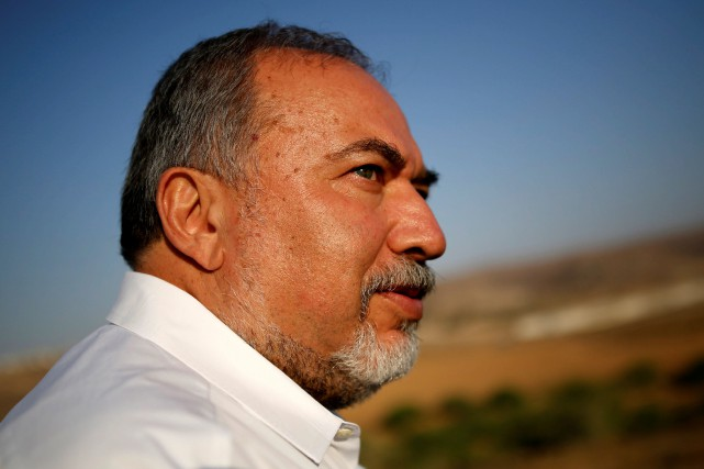 Le ministre de la Défense, Avigdor Lieberman.... (PHOTO REUTERS)