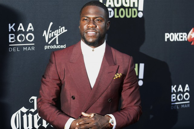 L'humoriste Kevin Hart a donné 25 000 $ US... (PHOTO ARCHIVES AP)