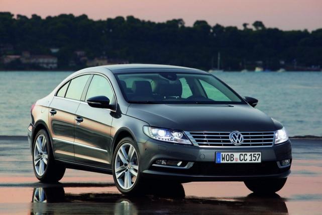 La Volkswagen CC (ci-haut) et la Passat font... (Photo : Volkswagen)