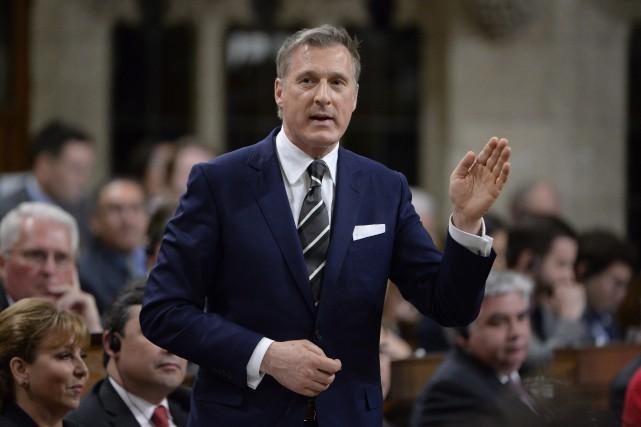 Le député conservateur Maxime Bernier.... (PHOTO ARCHIVES La Presse canadienne)