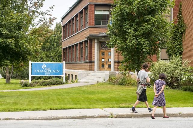 Les campus du Collège régional Champlain (CRC) de... (Spectre Média, Jessica Garneau)