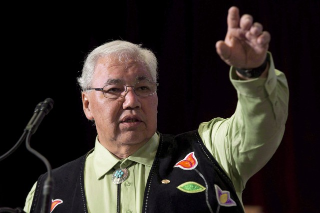 Le sénateur Murray Sinclair, qui a passé six... (Photo La Presse canadienne)