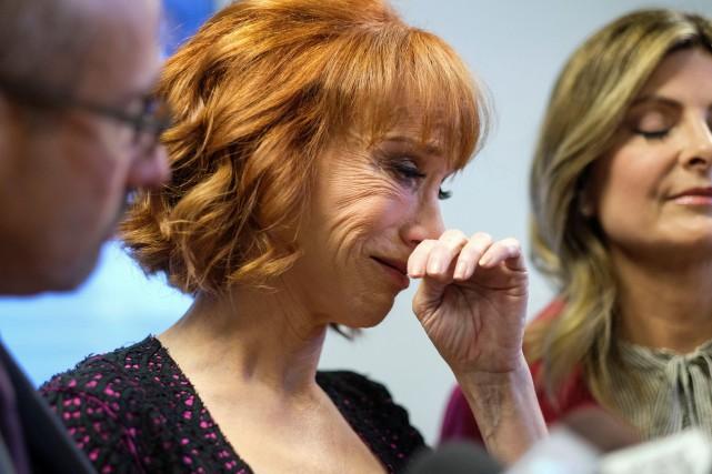 Kathy Griffin s'est attaquée au président et à... (Photo archives Reuters)