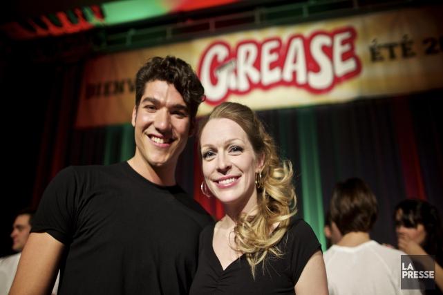 Jason Roy-Léveillé et Annie Villeneuve interprètent Danny et... (La Presse)