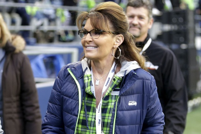 Sarah Palin, ancienne gouverneure de l'Alaska, a cherché... (AP, Scott Eklund)
