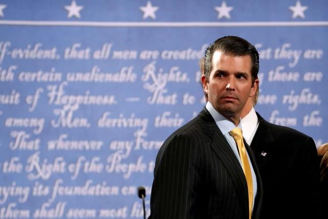Donald Trump Jr.... (Photo archives Reuters)