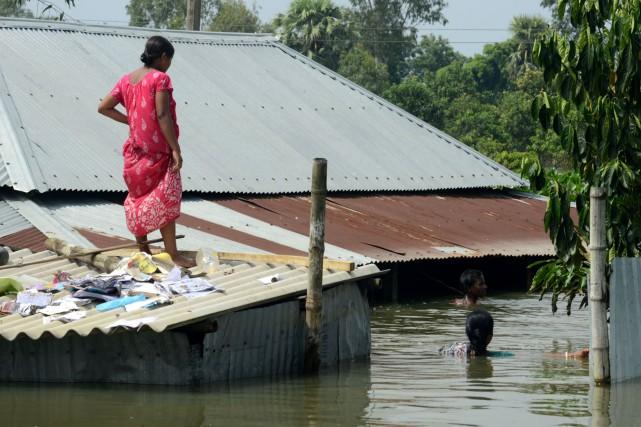 La mousson a fait cette année plus de... (AFP)