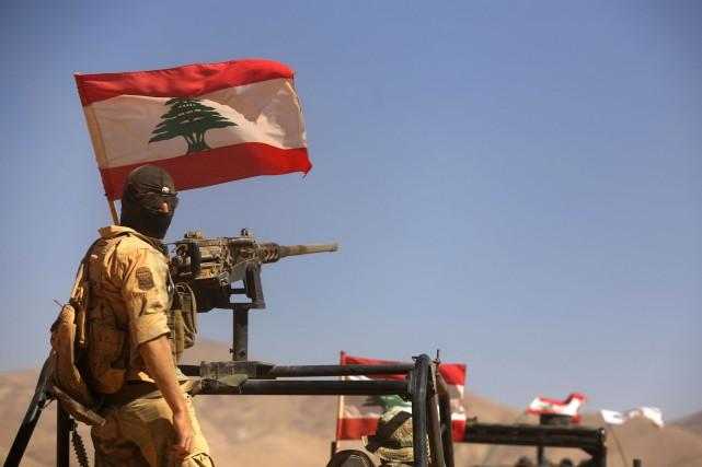 La guerre qui ravage la Syrie voisine a... (AFP)