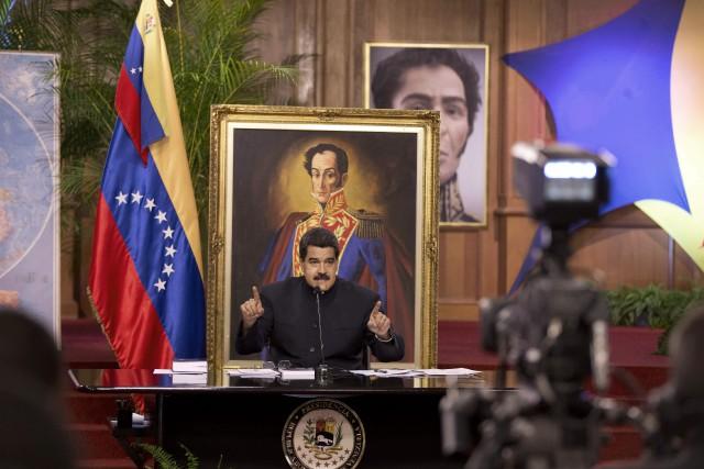 Le président vénézuélien Nicolas Maduro «a été élu... (PHOTO AP)