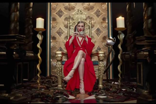 La chanteuse Taylor Swift fait sensation depuis la... (PHOTO TIRÉE DU CLIP)