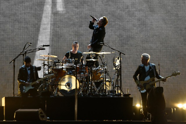 U2 en spectacle à Dublin dans le cadre... (PHOTO ARCHIVES REUTERS)