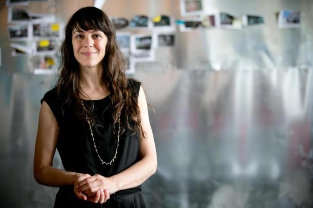 C'est à l'artiste multidisciplinaireKarine Lanoie-Brien que l'Office national... (Photo David Boily, La Presse)