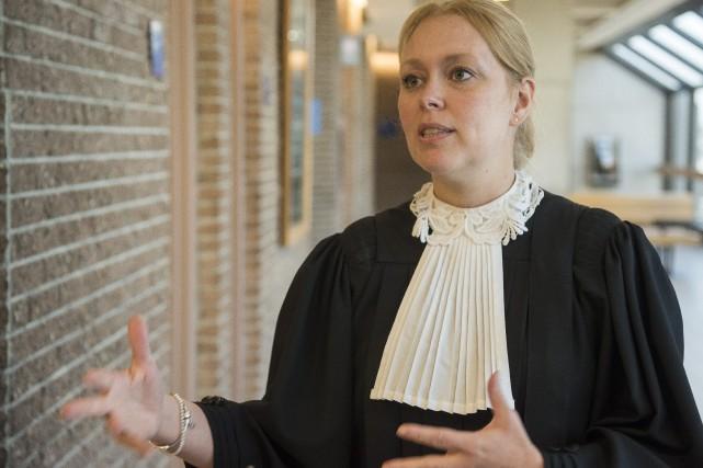 La procureure aux poursuites criminelles Me Marie-Line Ducharme... (Spectre Média, Frédéric Côté)
