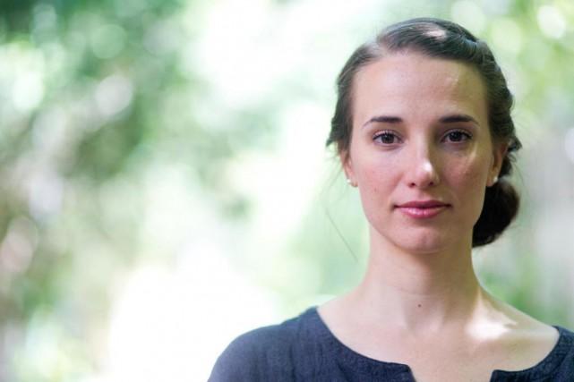 Avec son troisième roman, Audrée Wilhelmy admet avoir... (Photo François Roy, La Presse)