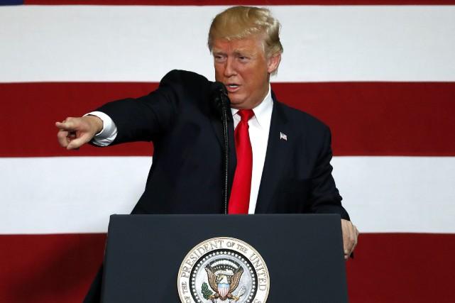 Donald Trump... (PHOTO archives AP)