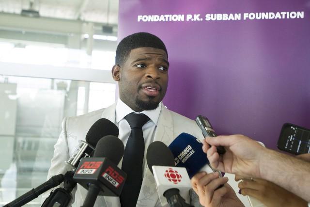 P.K. Subbanétait de passage à Montréal dans le... (THE CANADIAN PRESS)