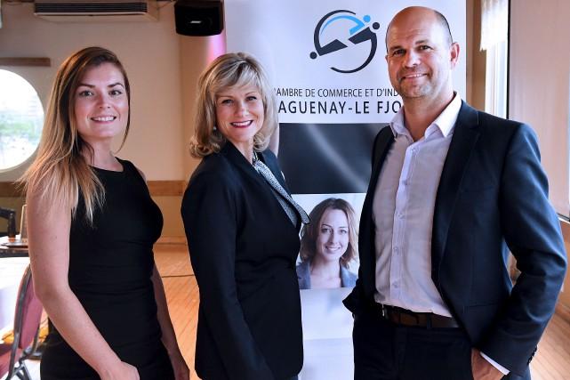 Lucie Murray est la nouvelle présidente de la... (Photo Le Quotidien, Rocket Lavoie)