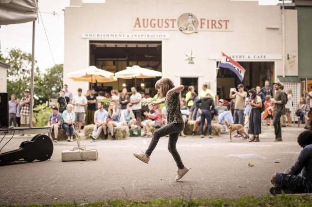 La boulangerie et le restaurant August First, à... (tirée de Facebook)