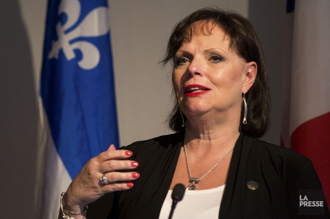 La ministre déleguée à la Protection de la... (Photo Simon Giroux, archives La Presse)
