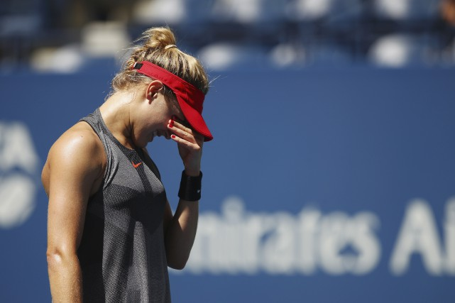 Eugenie Bouchard... (Photo AFP)